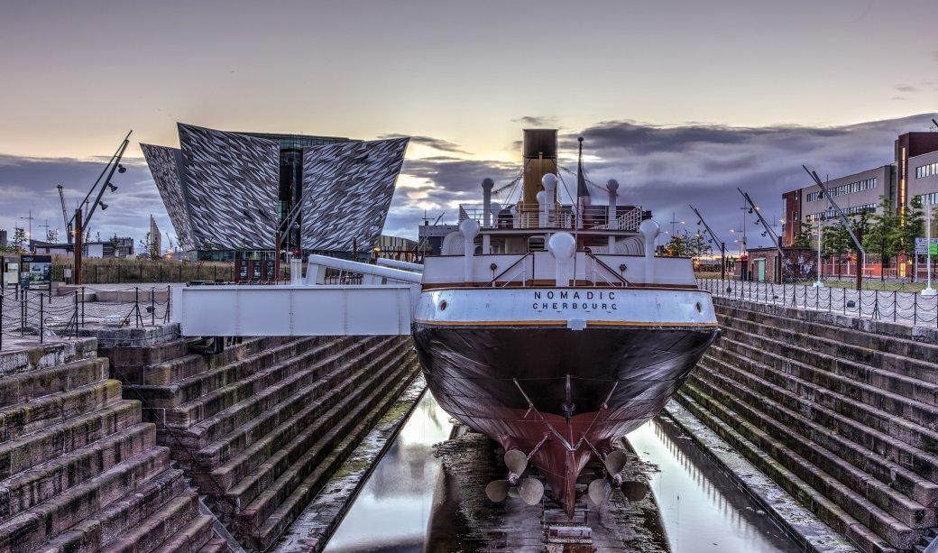 Image of HMS Nomadic